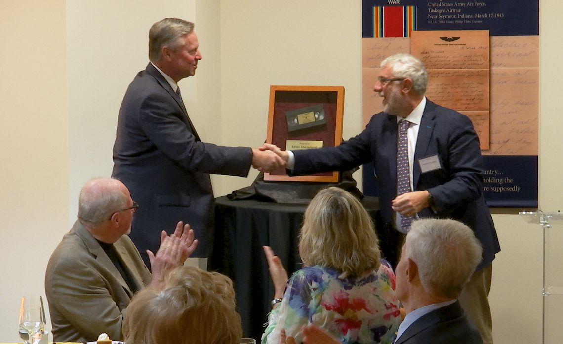 Huell Howser videos dedication at Chapman University