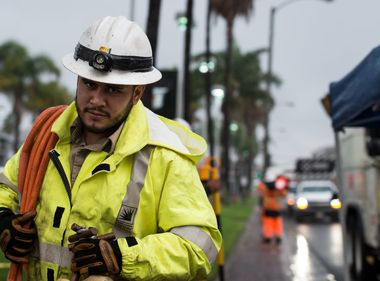SCE Crews Ready as Winter Storm Moves Through Southland