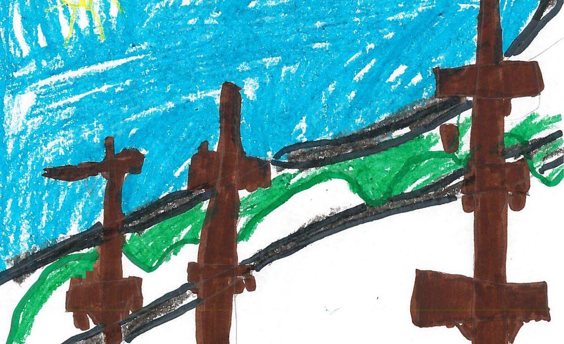 Alvin Elementary School Drawings