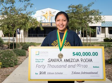 Edison Scholar Wants to Help Bring Renewable Energy to All Communities