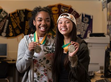 Edison Scholars and BFFs Bring Out the Best in Each Other