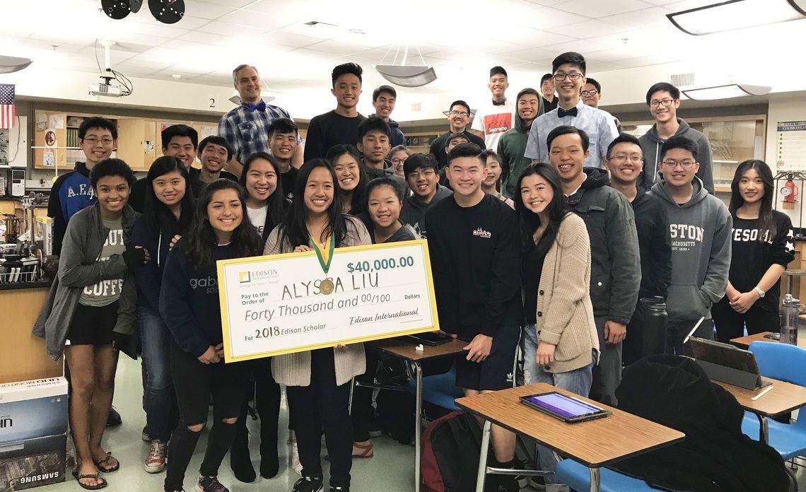 Edison Scholars 2018 - Alyssa Liu