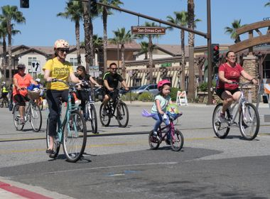 Edison Brings Sustainability, Electric Cars to CicLAvia's Heart of the Foothills