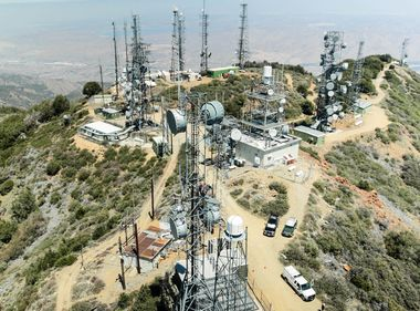 New Cameras Installed on SCE Telecom Tower to Monitor Wildfire Activity