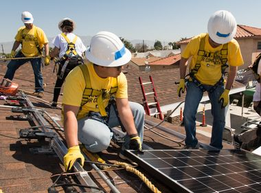 Inland Empire Housewarmings Powered by Pro Bono Solar Installation