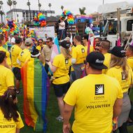 SCE Employees at Long Beach Pride