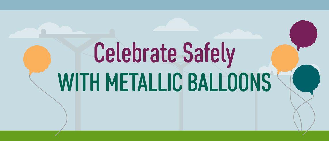 June Metallic Belloon Safety Infographic Header