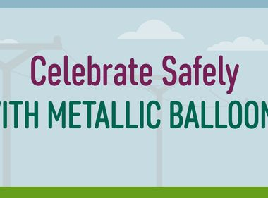 Celebrate Safely With Weighted Metallic Balloons