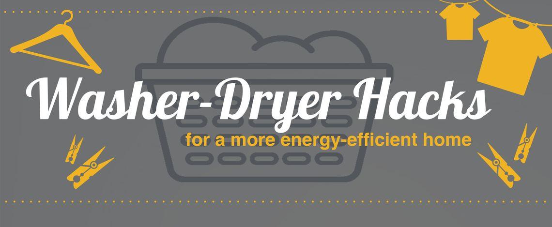 washer dryer header
