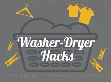 INFOGRAPHIC: Washer and Dryer Hacks