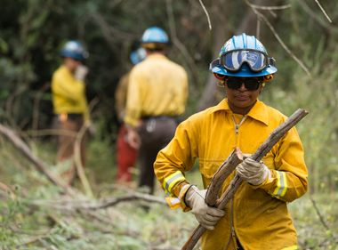 Training California's Future Wildland Firefighters