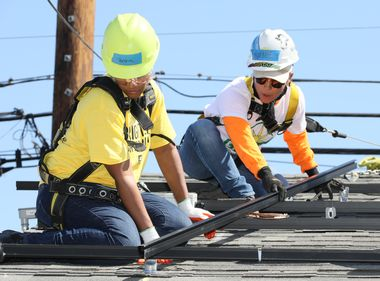 Changing Lives With New Homes, Free Solar Panels