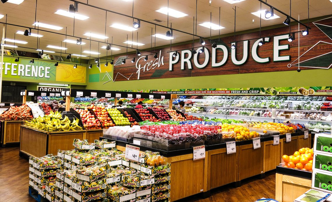 Asian Supermarket Lights Up with Energy Efficiency