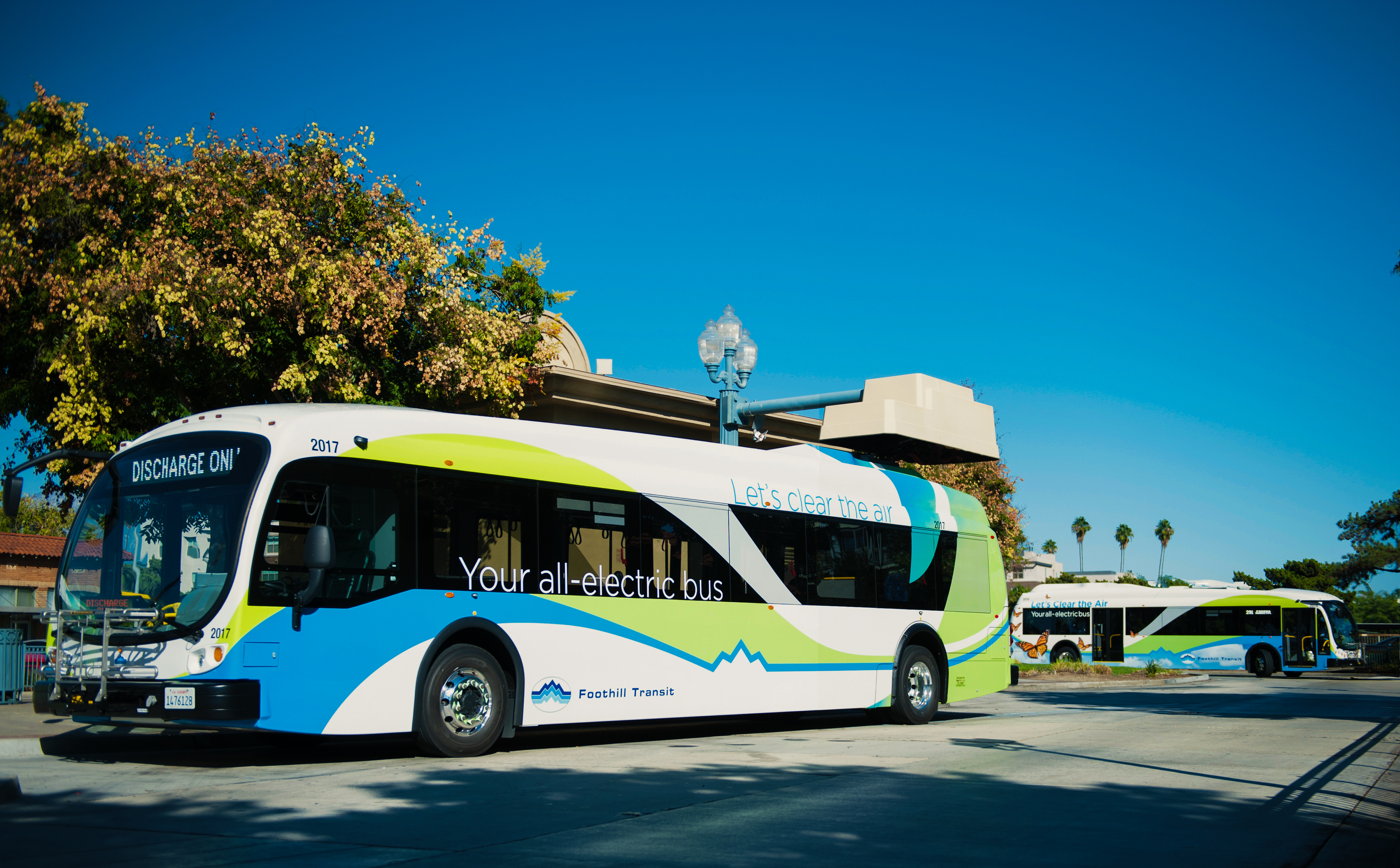 Foothill Transit Electric Buses