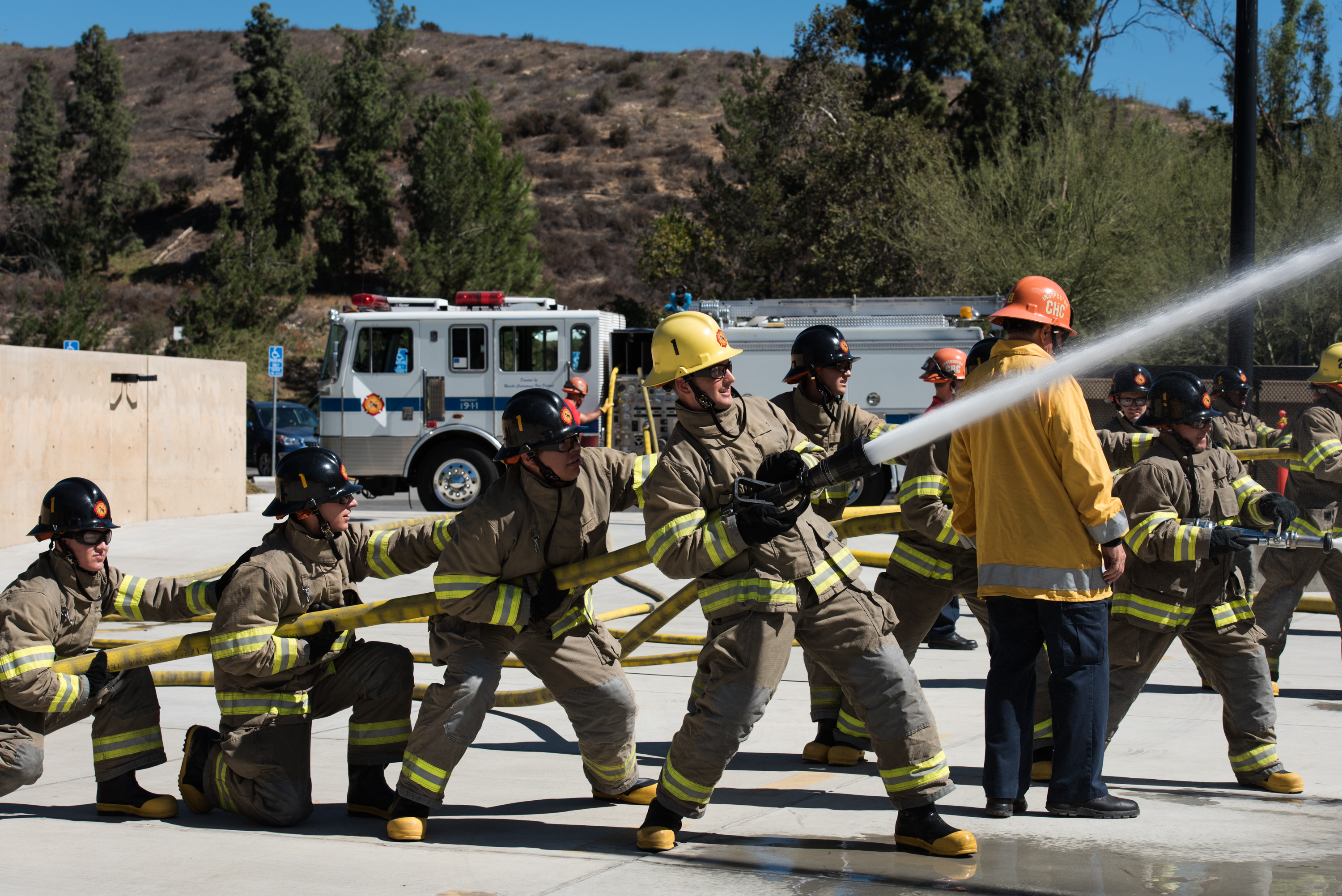 Crafton Hills Fire Academy Hopes to Increase Number of Female Firefighters