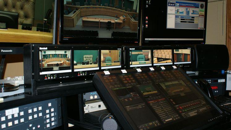 Carousel - CCTV Broadcast Control Room