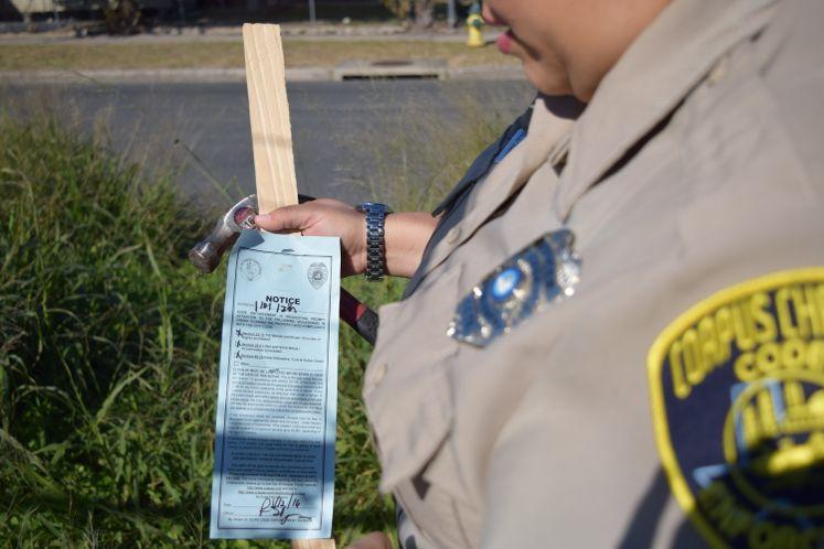 Notice of violation