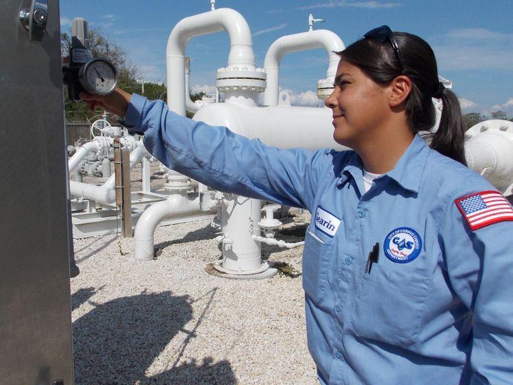 Gas Dept. Employee J. Gearin