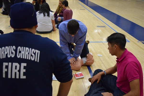 2016 H.S. Seniors get Lifesaving Lessons from CCFD