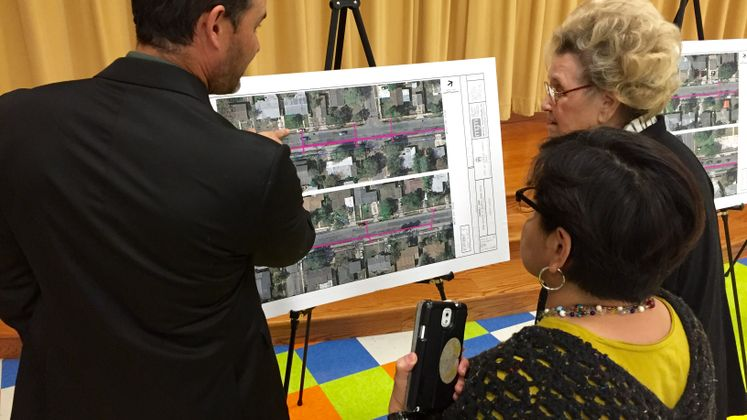 Carroll Lane Public Meeting, Bond 2014