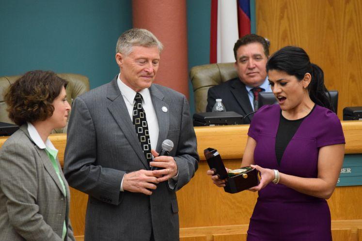 Councilwoman Lillian Riojas
