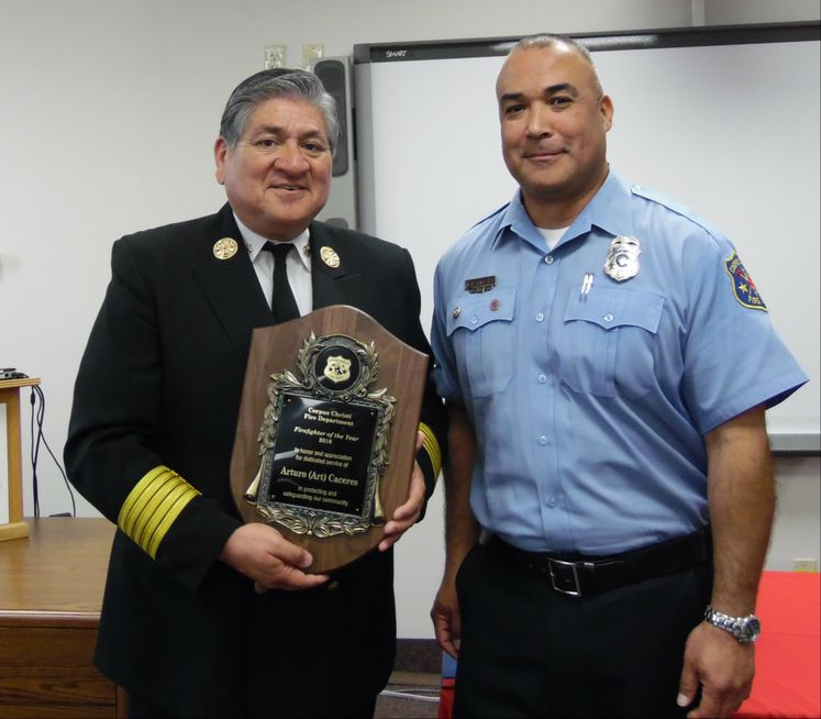 2016 Firefighter of the Year