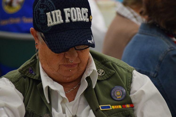 Veterans Honored at Garden Senior Center