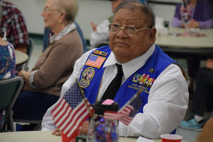 Veterans Honored at Garden Senior Center