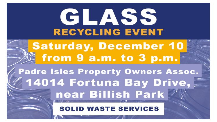 December Glass Recycling
