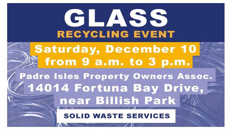 December Glass Recycling
