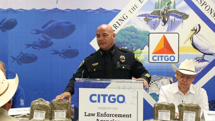 Chief Markle Accepts Citgo Donation