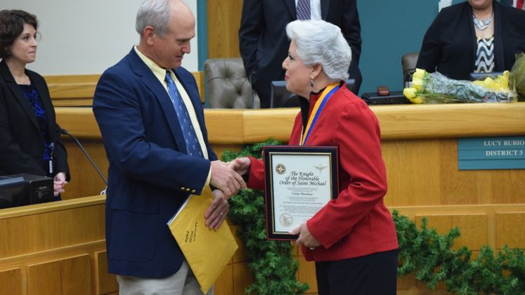 Mayor Nelda Martinez Farewell