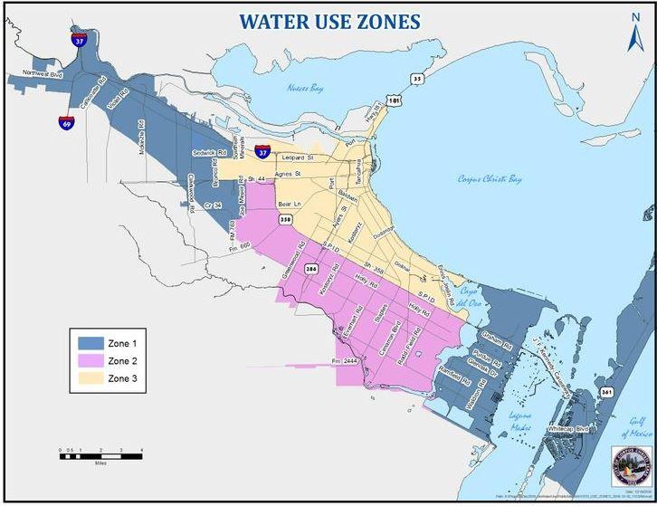 Map 3 Zones