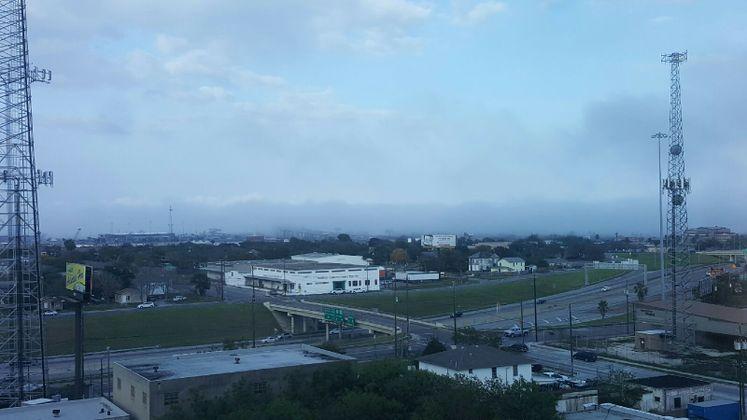 Fog Rolling in Over the Harbor Bridge