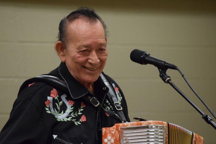 Flaco Jimenez at Zavala Grand re-opening