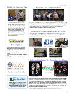 Inside the City Newsletter