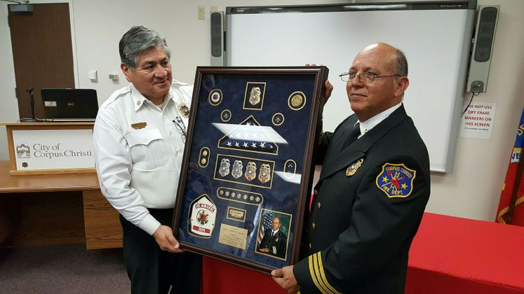 Asst. Chief Andy Cardiel Retires After 31 years at CCFD