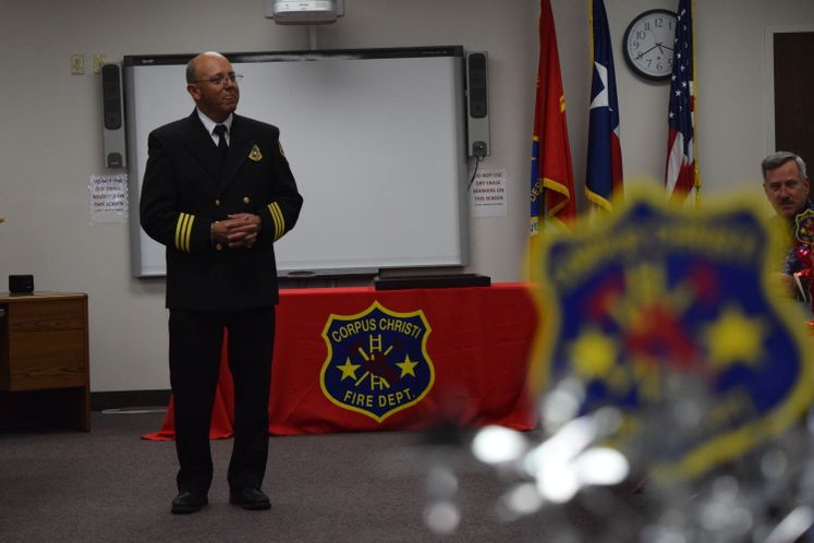 CCFD's Chief A. Cardiel's Farewell Reception