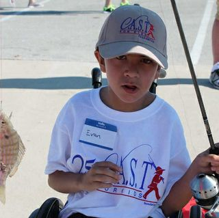 Kids Catch A Special Thrill (C.A.S.T.) Fishing at Packery Channel