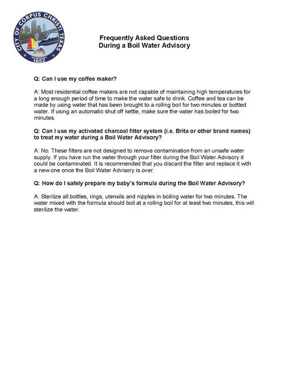 Water Boil FAQ 3