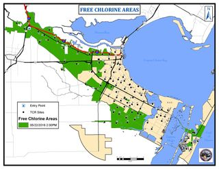 Free Chlorine Areas
