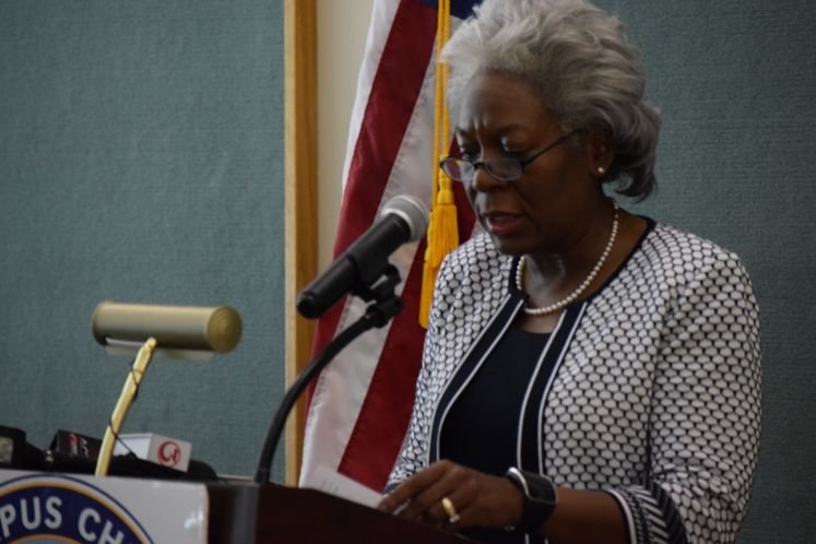 Interim City Manager Margie C. Rose announces lifting the Boil Water Notice