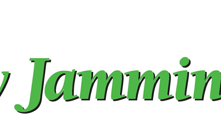 Bay Jammin' Logo green with palm tree