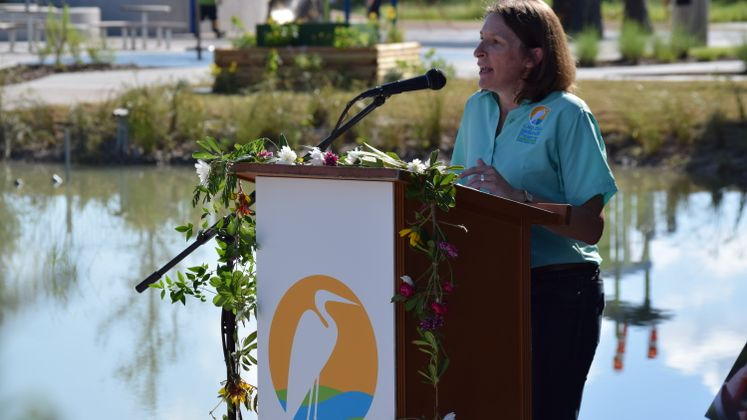 Oso Bay Wetlands Ribbon Cutting