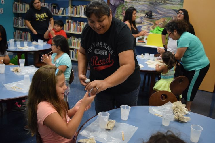 Science Blitz at La Retama Public Library