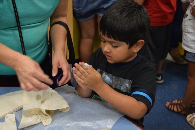 Science Blitz at La Retama Public Library