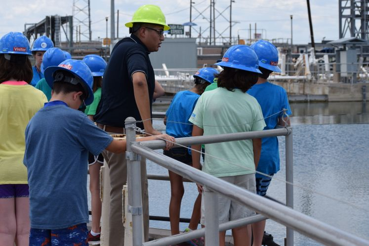 ONSWTP Tour by Sealab students