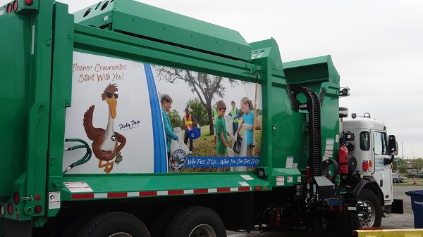 Solid Waste Trucks New Graphics