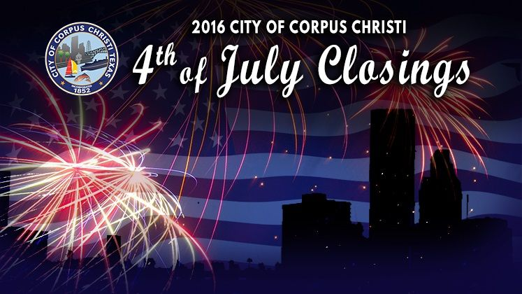 July 4th City Closings