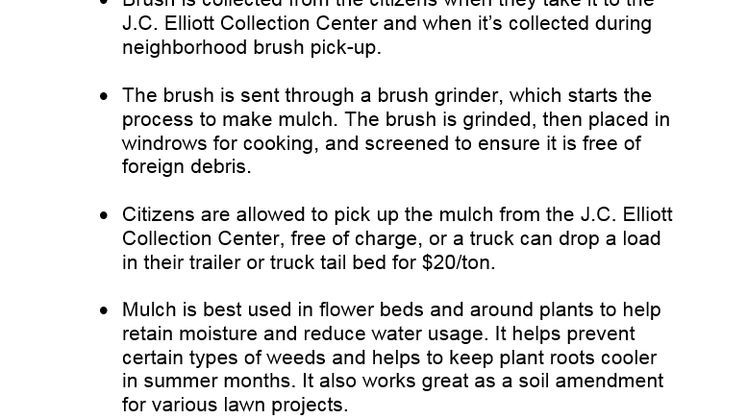 Mulch Fact Sheet